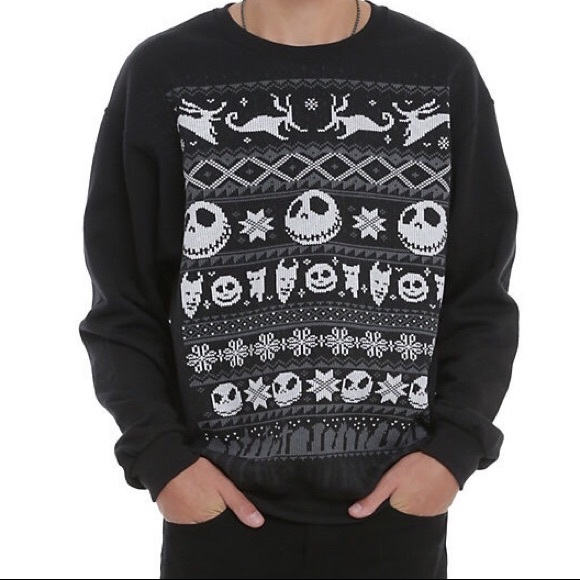 50% off Hot Topic Tops - Nightmare Before Christmas Fair Aisle ...